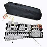EiDevo Faltbares Glockenspiel-Xylophon, Tragbares PädagogischesVibraphon-Schlaginstrument-Xylophon...