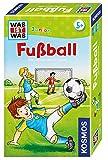 KOSMOS 711207 - Was ist was Junior Fußball, Das lustige Wissensspiel, Mitbringspiel für Kinder ab...