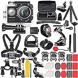 Neewer G1 Ultra HD 4K Action Kamera Set 170 Grad Weitwinkel WiFi Sports Cam 12MP 98ft Unterwasser...