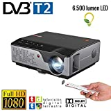 Beamer Nativer Full HD 1080P Projektor, Unicview FHD950 (1920 x 1080), 6.500 LED-Lumen, günstige...
