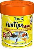 Tetra FunTips Tablets, Haft Futtertabletten als Hauptfutter für alle Zierfische, verstärken die...