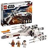 LEGO 75301 Star Wars Luke Skywalkers X-Wing Fighter Spielzeug mit Prinzessin Leia und Droide R2-D2...