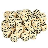 Scarlet Play | Würfelset »Casino 50« mit 50 Augenwürfeln, Spielwürfel aus umweltfreundlichem...