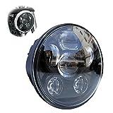 Locisne 5-3 / 4 '5.75' Runde LED Projektion Daymaker Scheinwerfer fr Harley Davidson Kickfaire...