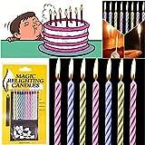 Lustige Geburtstagskerzen Relight Kuchen Dekorationen Kerze für Geburtstag Hochzeit Baby Shower...