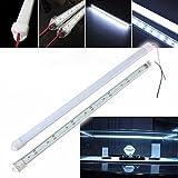 HVTKL 50CM 8520 SMD Cool White LED Starre Streifen Aluminium Milch/Clear Case Leuchtröhre DC12V...