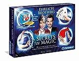 Clementoni 59048 Ehrlich Brothers-Secrets of Magic Zauberkasten, 30 geheime Zaubertricks Lernen, fr...