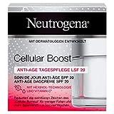Neutrogena Cellular Boost Anti-Age Tagespflege, mit Hexinol, Vitamin C und LSF 20, 1 x 50 ml