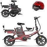 14' Folding Elektro-Bike für Erwachsene mit 350w 48v auswechselbaren Lithium-Batterie-elektrischem...