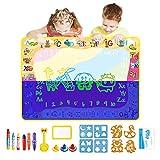 Jenilily Wasser doodle matte maltafel zaubertafel Leuchtend Matte Spielzeug Junge Mädchen 2 3 4 5...
