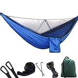 Bestsoon Hängematte, 1-2 Personen, tragbar, Outdoor-Camping-Hängematte mit Moskitonetz, hohe...