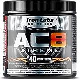 AC8 Xtreme Hadcor Pre Workout Booster Nahrungsergänzungsmittel MAXIMUM STRENGTH Pre-Workout...
