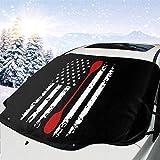 MoonW Auto Windschutzscheibe Schneedecke American Kayak Frost Guard Protector, Eisdecke, Auto...