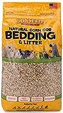 Sunseed Einstreu aus natürlichem Maiskolben für Vögel und Kleintiere 350 Kubikzoll