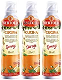Bertolli Olivenöl Spray Cucina, 3er Pack (3 x 200 ml)