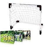 Demiawaking Fußballtor für Fußballtraining, Trainingsgerät für Fußball (150 x 100 cm)