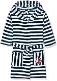 Playshoes Kinder Fleece-Bademantel Ringel Maritim Accappatoio, Blu (Marine/Weiß 171), 98/104...