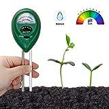 Orlegol Bodentester, Boden Feuchtigkeit Meter, 2-in-1 Pflanze Tester, Bodenmessgerät...
