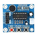 Taidallo DIY 3pcs ISD1820 Sprachaufnahme-Modul Sound Playback Brett-Modul Hobby & Wohnen (Farbe : 1)