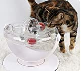 IMPHOM Katzenspielzeug Ball Track Tower Pet Baby Toy Puzzle Set Drehplatte Tisch