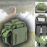 MQ ANGELTASCHE inkl. 4 LEERBOXEN | Boxen-Tasche fr Angel-Zubehr Kder-Boxen Wasser-Abweisend ak 907