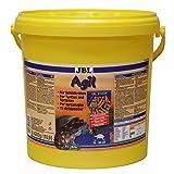 JBL Hauptfutter für Wasserschildkröten von 10-50 cm, Futtersticks, Agil, 70346, 1er Pack (1 x 10.5...