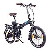 "NCM London 20"" E-Bike, E-Faltrad, 36V 15Ah 540Wh (Schwarz)"