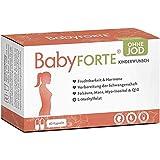 BabyFORTE® Kinderwunsch Vitamine OHNE JOD - 60 Kapseln - Vegan - 17 Nährstoffe + Folsäure, Myo...