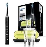 Philips Sonicare DiamondClean Elektrische Zahnbürste HX9359/89, Schallzahnbürste mit 5...