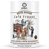 KetoMeals Keto Shake Café Frappé (25 Port), Ketogene Diät & Low Carb Ernährung, 450g