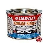 Kontaktkleber BINDALL 200 g - Bindulin Profipack hell Neoprenkleber wasserfest geruchsarm für...