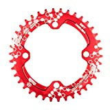 Chooee 30T rund Fahrrad Kettenblatt, Aluminium schmal breit Kettenblätter,BCD 104mm