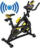 Nero Sports Bluetooth Spinning Aerobic Heimtrainer Indoor Training Fitness Cardio Spin Bike Fahrrad...