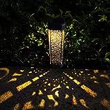 Hallo Home® 4 PCS Solarlaterne für außen Dekorative Solarlampe Garten Laterne IP44 Wasserdicht...