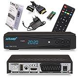 Ankaro 2100 DSR Sat Receiver - HD Satelliten Receiver mit USB-Mediaplayer Funktion - DVB-S/S2...