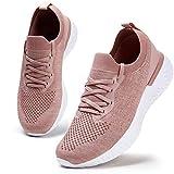 Damen Walkingschuhe Turnschuhe Laufschuhe Sportschuhe Fitness Sneakers Trainers für Running Outdoor...