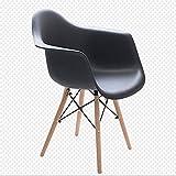 YWAWJ Stuhl Freizeit Tisch und Stuhl Einfacher Schreibtisch Kchensthle Zurck Indoor Outdoor...