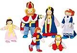 goki Biegepuppen 'Königsfamilie' 6 Puppen