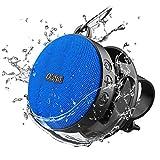 Olafus Bluetooth Lautsprecher, IPX7 Wasserdicht Bluetooth 5.0 Duschlautsprecher mit Fahrradhalter,...