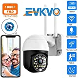 EVKVO 1080P Security WiFi Camera Outdoor PTZ Speed Dome Wireless CCTV IP Camera Pan Tilt 4X Zoom...