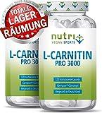 L-CARNITIN Carnipure  - TESTSIEGER - 240 Kapseln - Laborgeprüft & beste Bioverfügbarkeit - Vegan...
