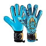 Ho Soccer First Superlight Blue Blood Torwarthandschuhe, Unisex, Kinder, Blau/Gold, 5,5