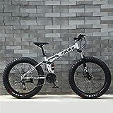 CLOTHES Pendler Stadt Rennrad, Männer Mountain Bikes, 26inch Fat Tire Hardtail Snowmobile,...