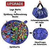SUMBABO Spielzeug Aufraeumsack Teppich Decke Sack fr Lego - Spielzeug Aufbewahrung Matte Tasche fr...