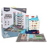 Lernspielzeug, mehrschichtiger Aufzug Parkplatz Spielzeug Parkhaus Spielzeug Dynamische Musik...