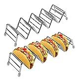 Taco-Halter - 2 Stück/Set Hochwertiger Taco-Halter aus Edelstahl für Kinder...