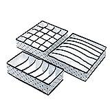qfkj Storage Box 3PCS / Set Faltbare Unterwäsche Organizer Bra Krawatte Socken Kleidung...