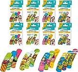 80 Stück Kinderpflaster verschiedene Motive, 8 Packungen