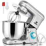 COSVALVE Küchenmaschine Knetmaschine 1400W, 7L Edelstahlschüssel mit Rührbesen, Knethaken,...