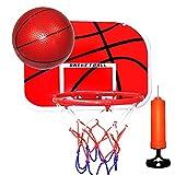Basketballkorb Tragbare Federung Free Punch Kunststoff Basketballrahmen Mini Basketball Kinder Sport...